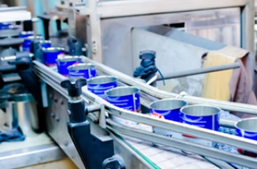 Three-piece cans production line